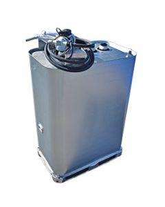 1000 liter AdBlue tank (verzinkt) met pomp (220V)