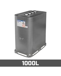 Olietank verzinkt: 1000L - Dubbelwandig (metaal en kunststof)