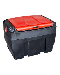 Mobiele tank voor 300 liter diesel, in kunststof - met of zonder pomp
