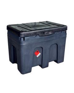Mobiele tank voor 450 liter diesel, in kunststof - met of zonder pomp