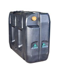 Ondergrondse rechthoekige septic tank in kunststof van 2000 liter