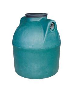 Ondergrondse ronde septic tank in kunststof van 1500 liter