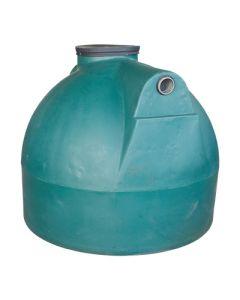 Ondergrondse ronde septic tank in kunststof van 2000 liter