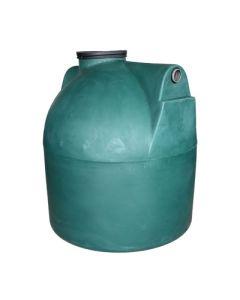 Ondergrondse ronde septic tank in kunststof van 3000 liter
