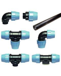 Koppelstukken voor bovengrondse watertanks