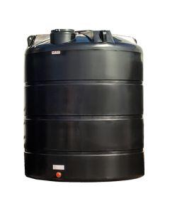 Bovengrondse Ronde Tank - 12000 liter - met mangat