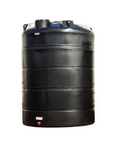 Bovengrondse Ronde Tank - 15000 liter - met mangat