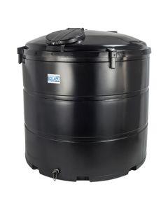 Bovengrondse Ronde Tank - 3050 liter - met mangat