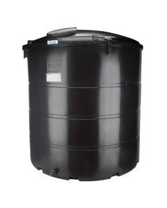 Bovengrondse Ronde Watertank - 6250 liter - met mangat