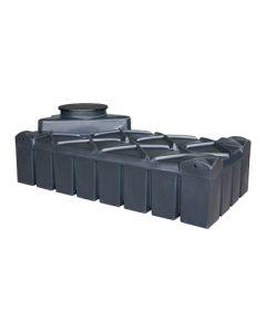 Ultraplatte kunststof septic tank - 1500 liter
